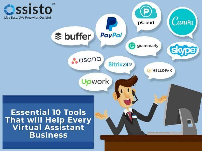 10 virtual assistant tools