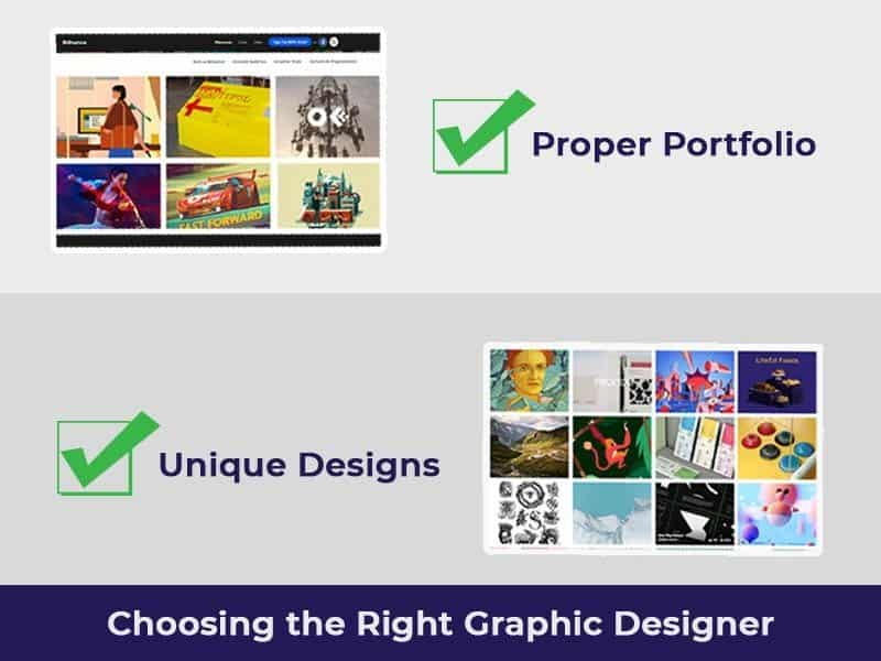 choosing graphic designer
