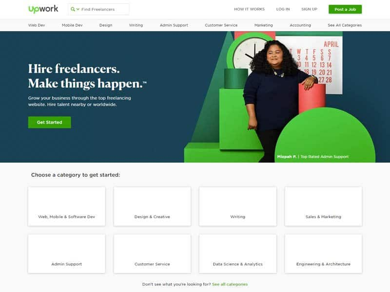 Upwork - virtual assistant tools