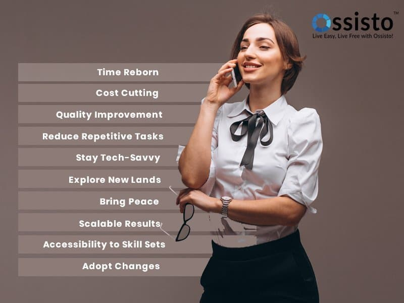 benefits of virtual assistant