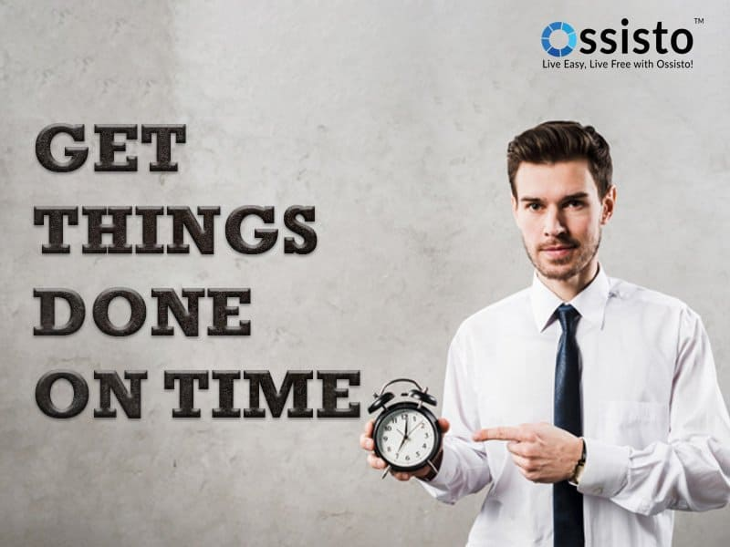 get things done on time