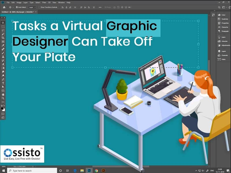 Virtual graphic designer