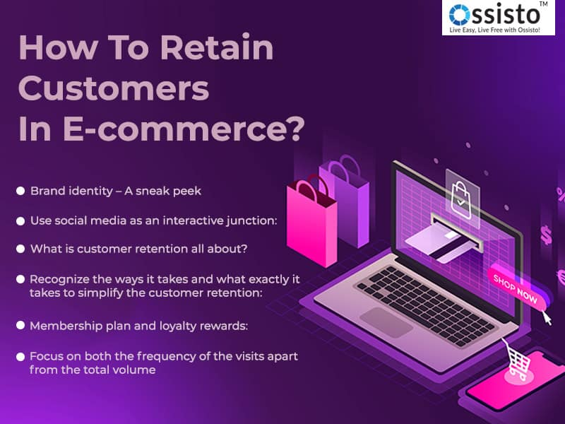How to retain customers in E-commerce?