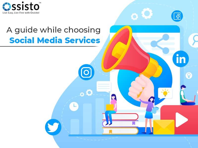 social media services, digital marketing, virtual assist